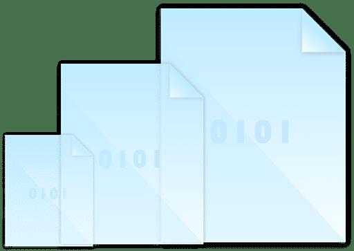 Dateigrößen erstellen