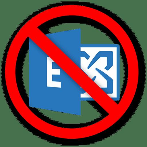 Microsoft Exchange fehlgeschlagen