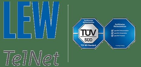 LEW TelNet zertifiziertes Rechenzentrum
