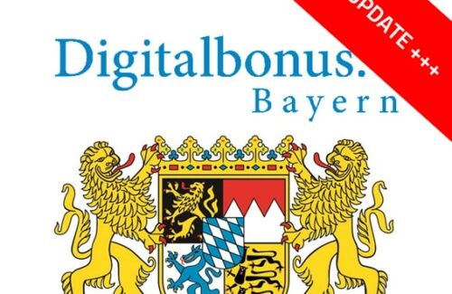 Digitalbonus Bayern Update