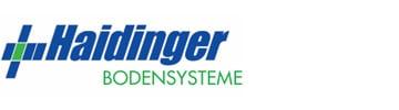 Logo Haidinger Bodensysteme