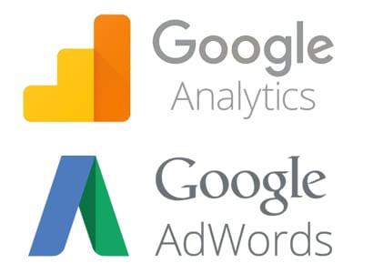 Google Analytics und Google Adwords Logo