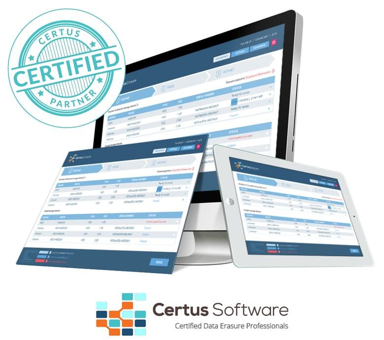 Zertifizierter Certus Partner Datenlöschung