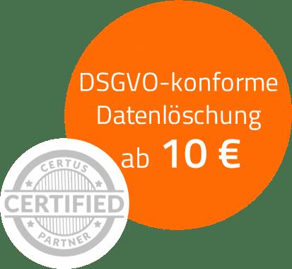 Certus Software Einzellizenz Datenlöschung
