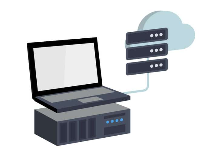 cloud backup - online datensicherung