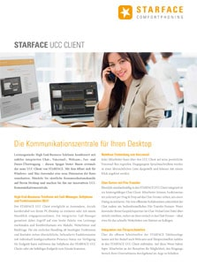 Starface UCC Client Flyer
